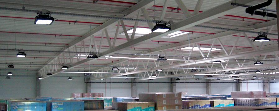 LED Hallenbeleuchtung von LEDTRON