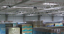 LED Hallenbeleuchtung